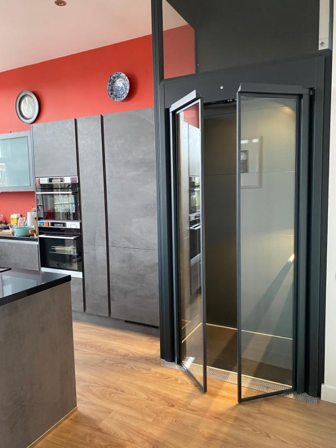 Huislift A-4000 in huis Leiderdorp