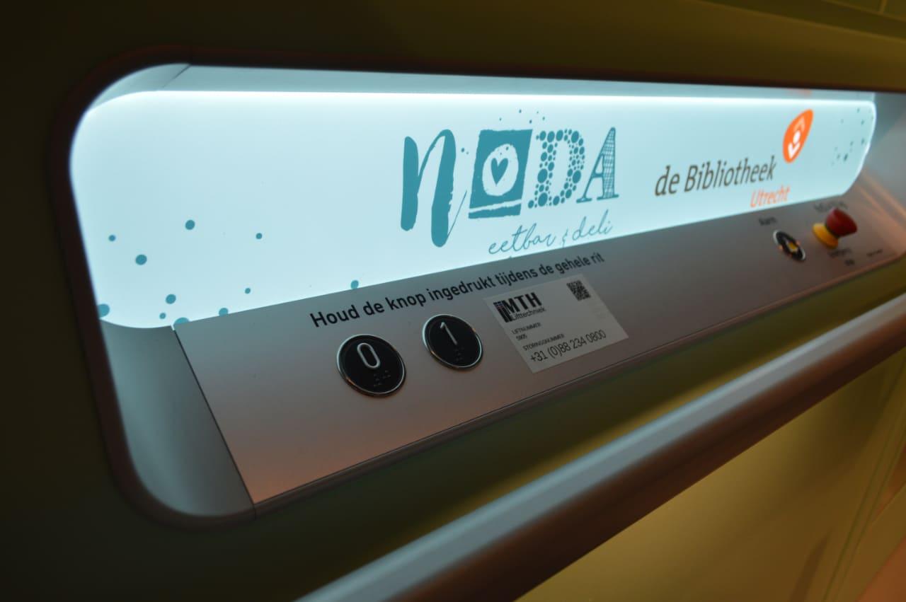 Bedieningspaneel platformlift A-7000 Noda in Utrecht